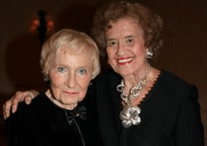 Dr. Kay Glasser and Betty Schoenbaum