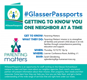 GlasserPassports Parenting Matters Flyer