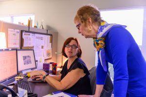Staff discusses campus business
