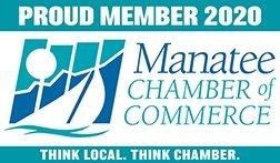 2020 Manatee Chamber Proud Member Seal