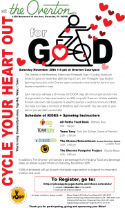Cycling for Good flyer