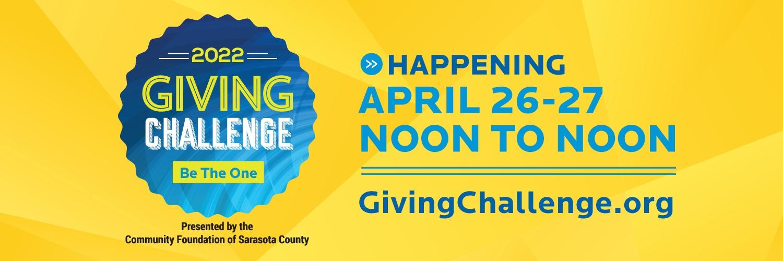Giving Challenge logo and advertisement